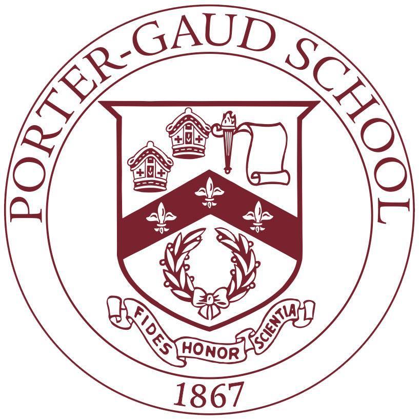 porter gaud school logo